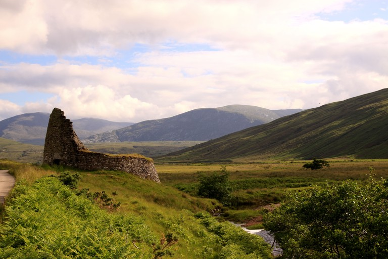 UK Scotland Highland Sutherland Dun Dornaigil Broch