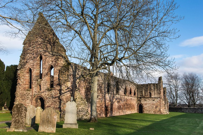 Beauly Priory in the Highlands of Scotland.