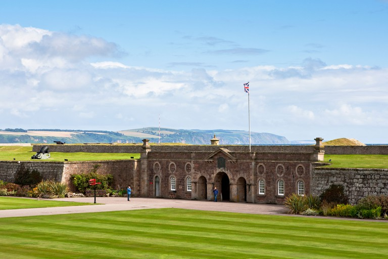 Fort George at Inverness in the Scottish Highlands; Scotland