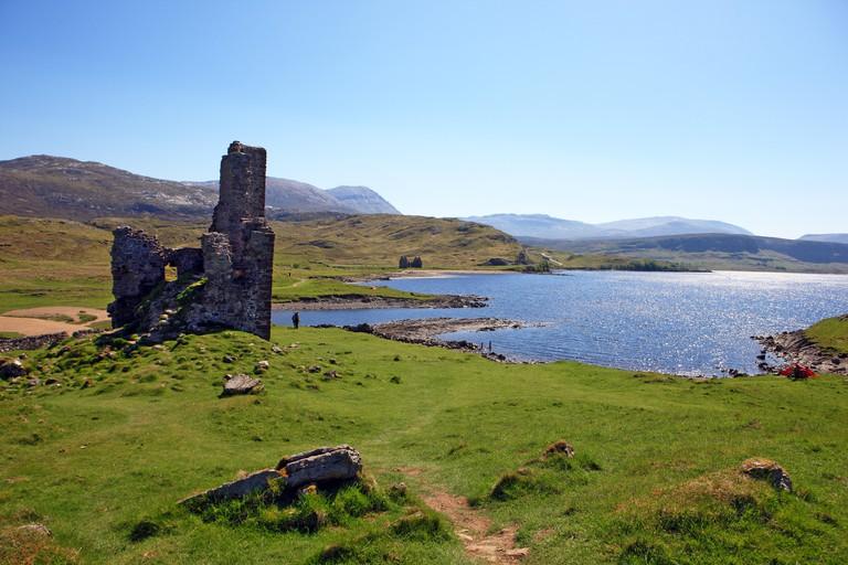 Ardvreck Castle, Loch Assynt, Sutherland, Scotland