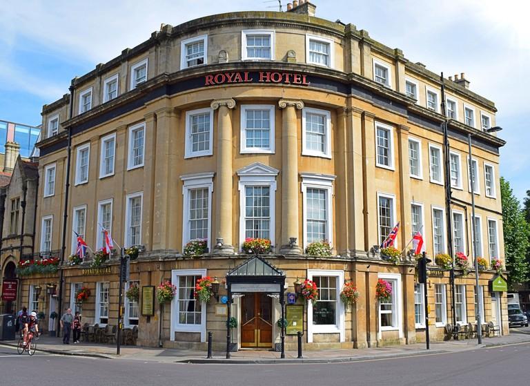 royal hotel bath