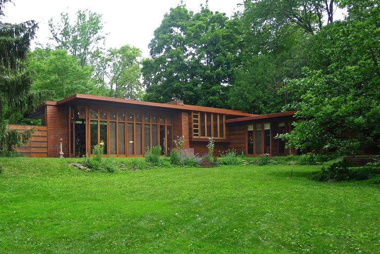 Jacobs House Designed By Frank Lloyd Wright
