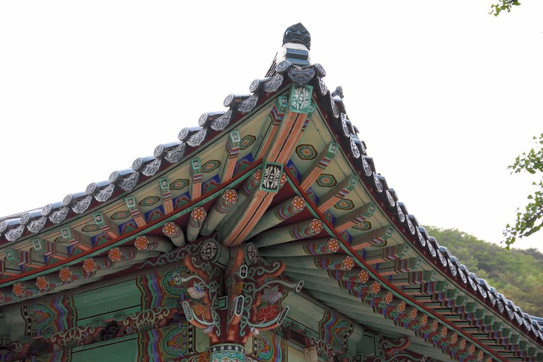 The Roof of a Hanok