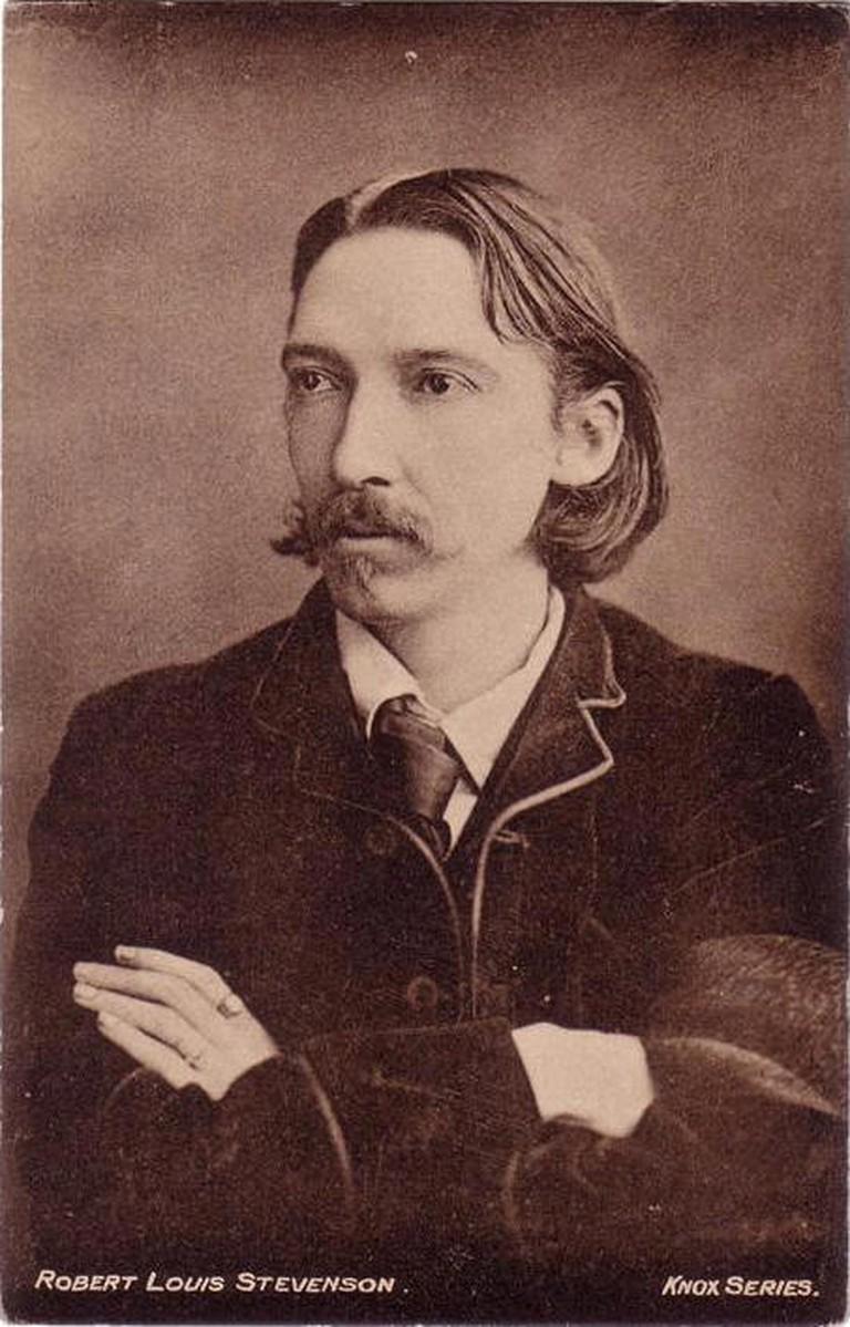 Robert Louis Stevenson © Knox Series/WikiCommons