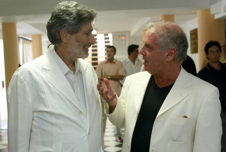 Daniel Barenboim and Edward Said