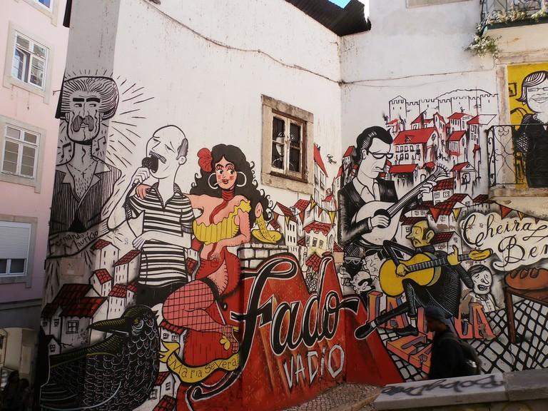 Fado Wall, Lisbon