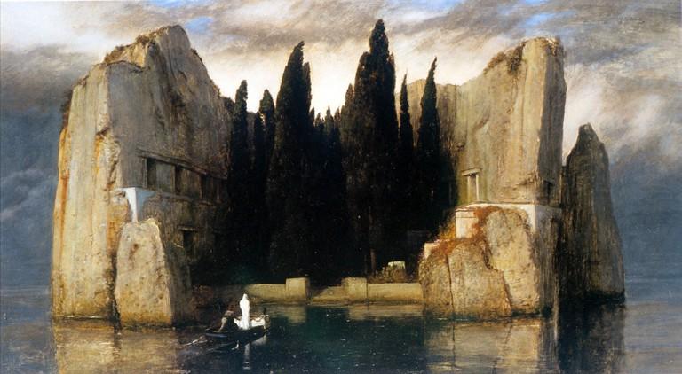 Isle of the Dead (1883) by Arnold Böcklin