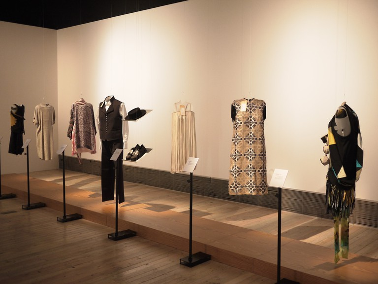 An insightful clothing exhibition