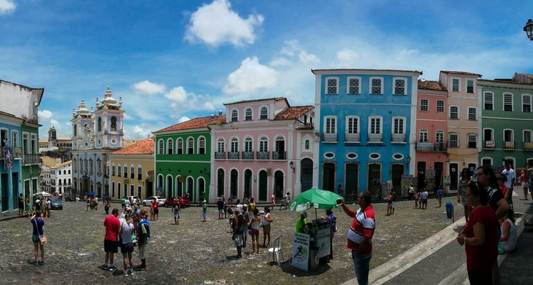 Pelourinho Historic Center of Salvador Bahia Brazil