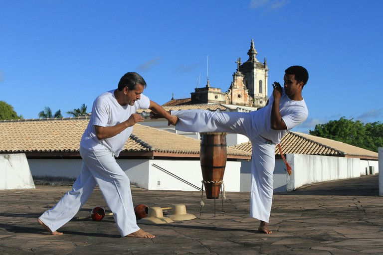 Capoeira was outlawed nationally in 1890