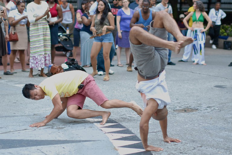 Using capoeira, many slaves escaped their masters and formed rebellion groups known as 'Quilombos'
