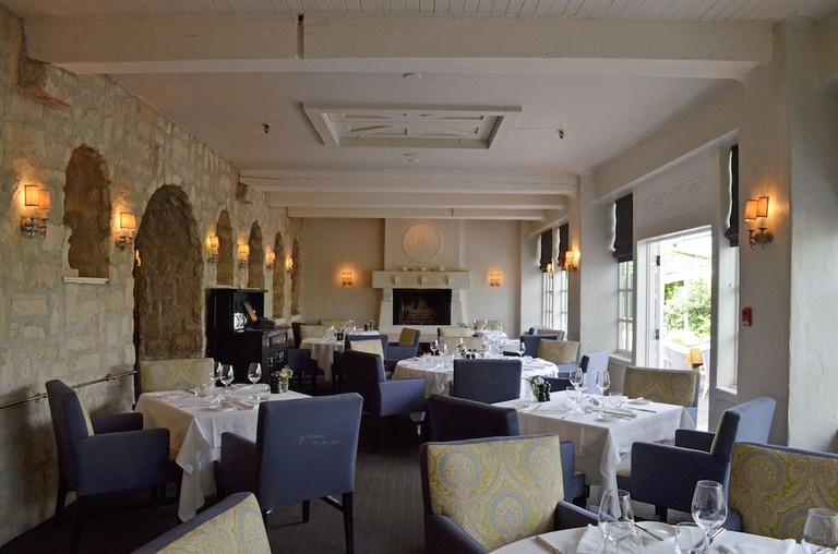 Chef de Cuisine, Malcolm Campbell, fuses tradition and innovation, offering modern French cuisine in a traditional setting