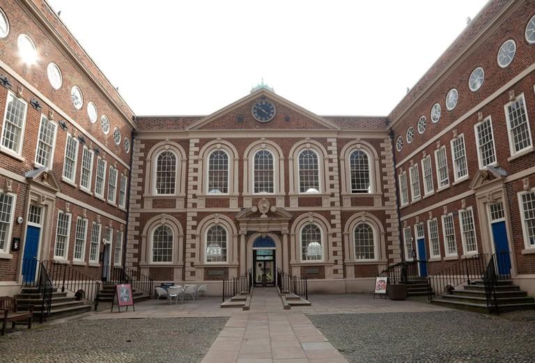 Bluecoat arts centre, Liverpool