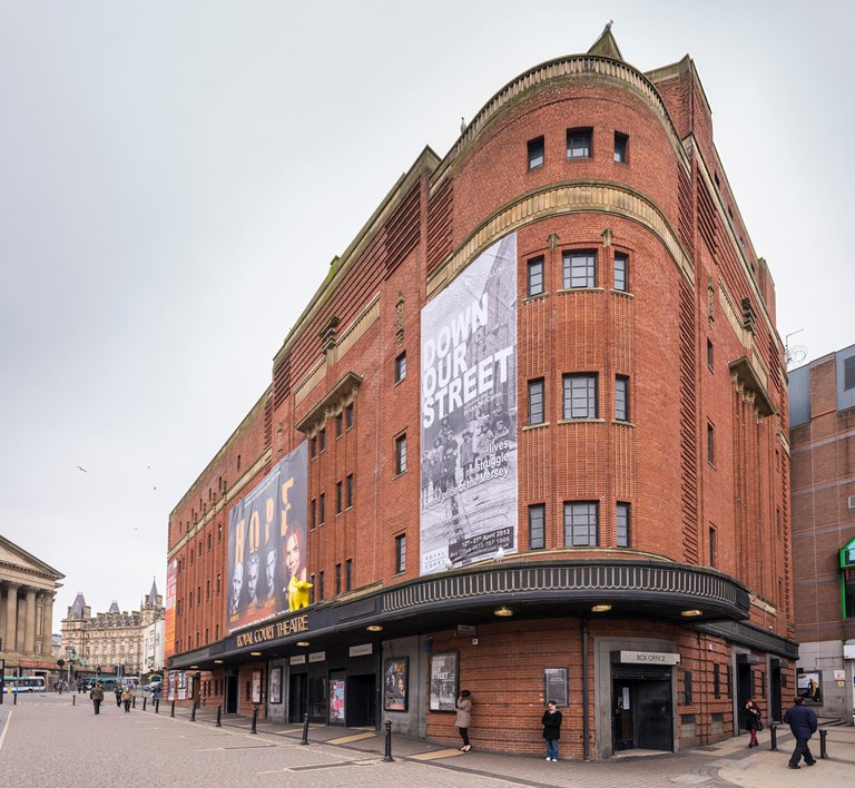 The Royal Court theatre, Liverpool