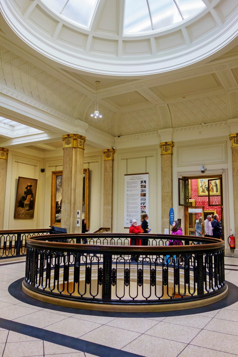 Interior of the Walker Art Gallery, Liverpool