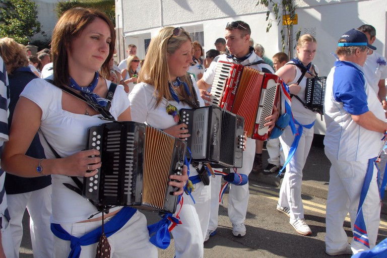 'Obby 'Oss festival, Padstow
