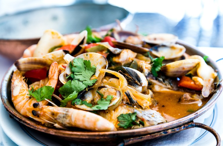 Known as the best seafood restraunt in town © ilolab / Shutterstock