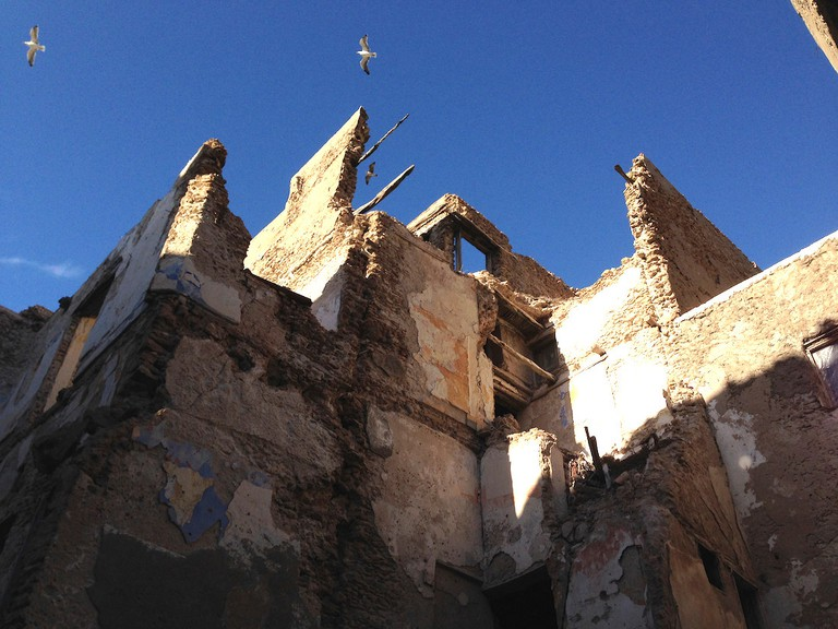 The Mellah – a walled Jewish quarter – now stands in ruins