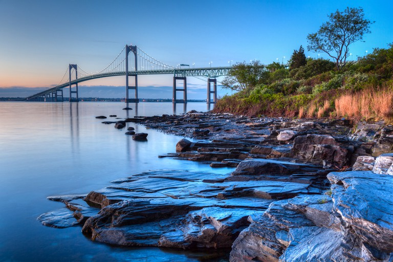 Newport bridge from Taylor's Point near Jamestown, Rhode Island, USA © JJM Photography / Shutterstock