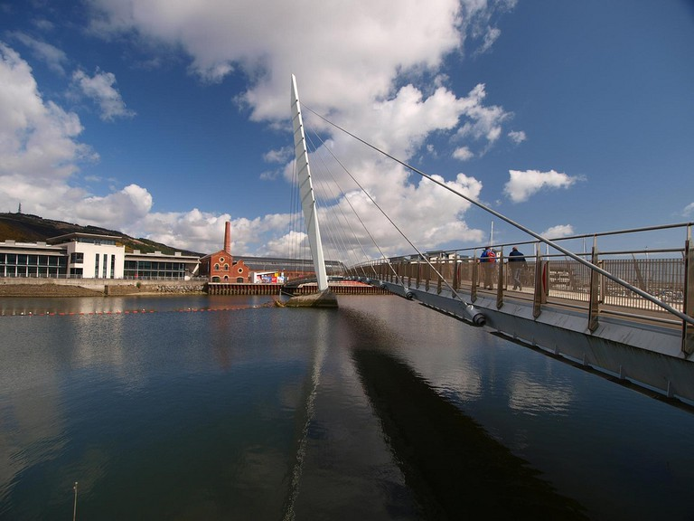 Sail Bridge, Swansea | ©Gareth Lovering Photography/Flickr