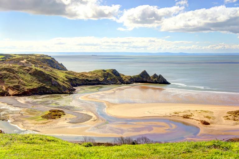Three Cliffs Bay, Gower Peninsula