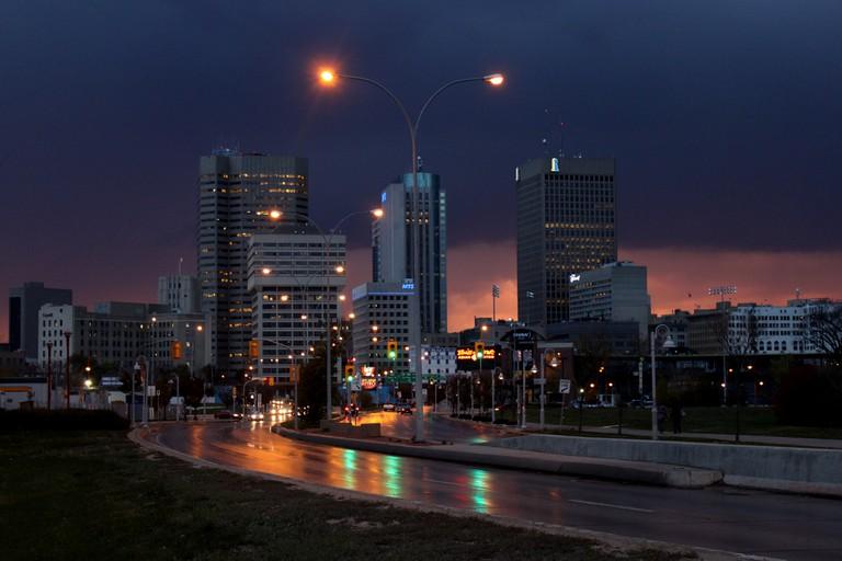 Downtown Winnipeg, Manitoba, Canada