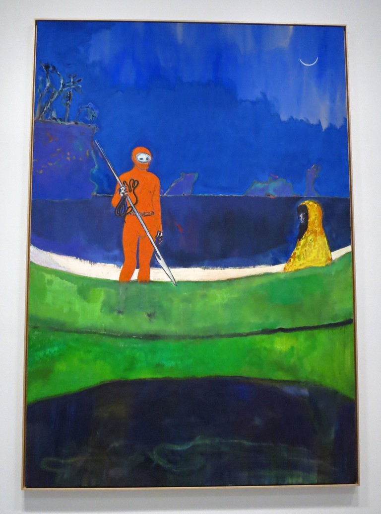 Spearfishing by Peter Doig