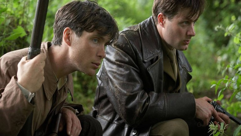 Cillian Murphy (l.) and Pádraic Delaney in 'The Wind That Shakes the Barley