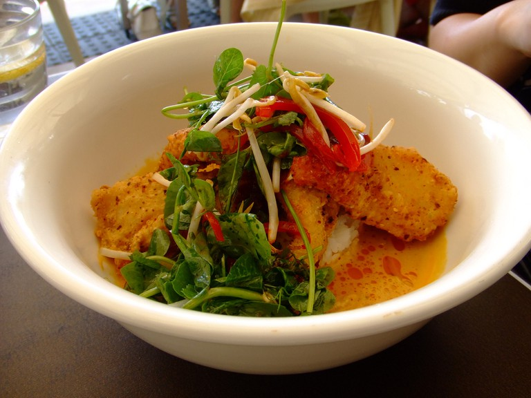 Red Fish Curry