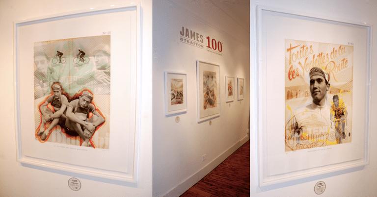James Straffrom display ©Snap Galleries