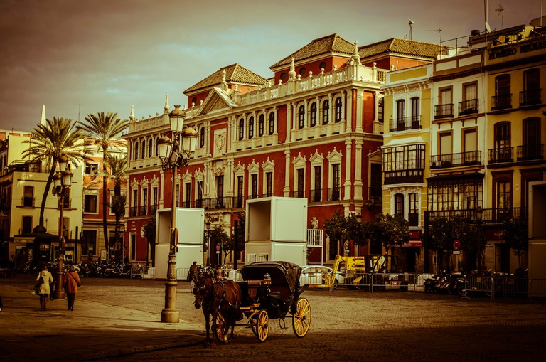 The Plaza de San Francisco in Seville | © Gilberto Mendes
