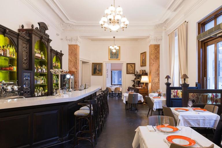 French restaurant in Bucharest