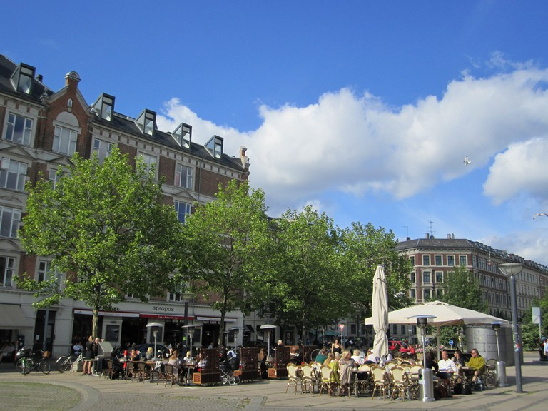 Plaza in Copenhagen