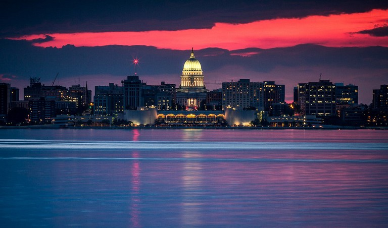 Madison at Sunset