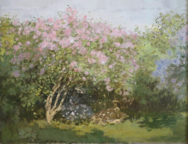 Lilacs in the Sun by Monet
