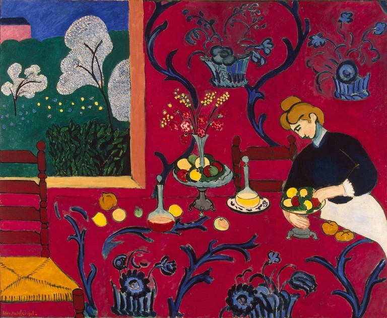 Matisse was influenced by Baya
