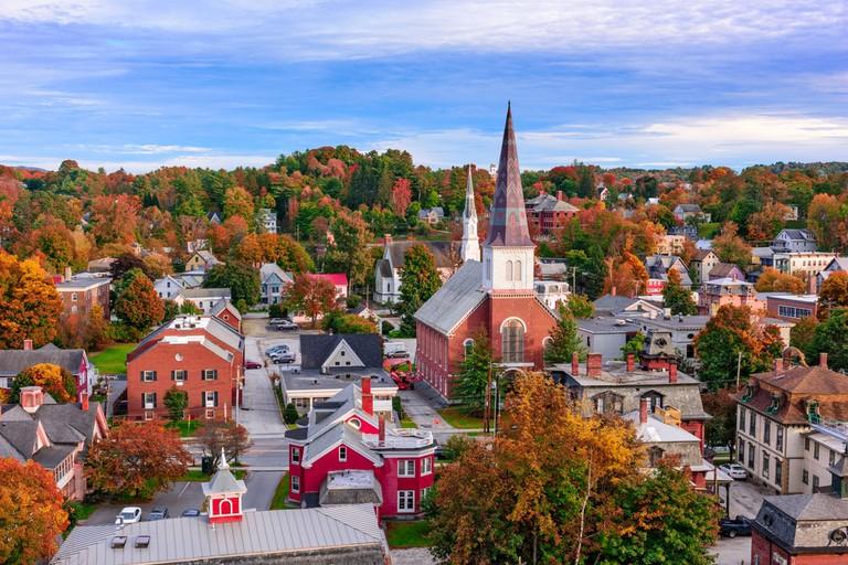 Skyline of Montpelier, Vermont