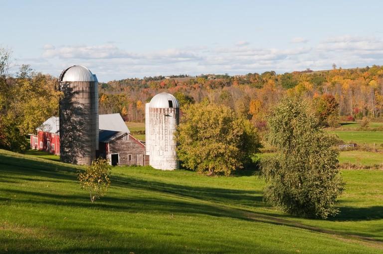 Autumn colors of Shelburne, Vermont