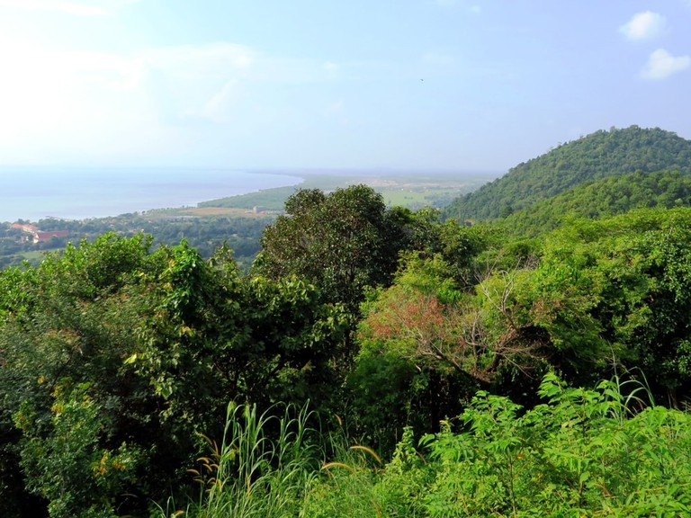 Viewpoint from Kep National Park
