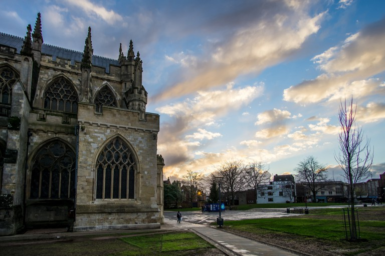 Exeter Cathedral| ©Adamcourt/Flickr