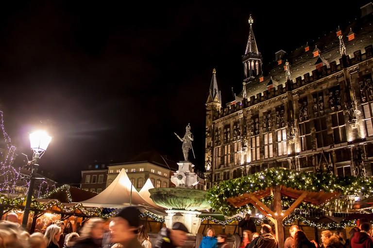 Christmas market in Aachen, Germany