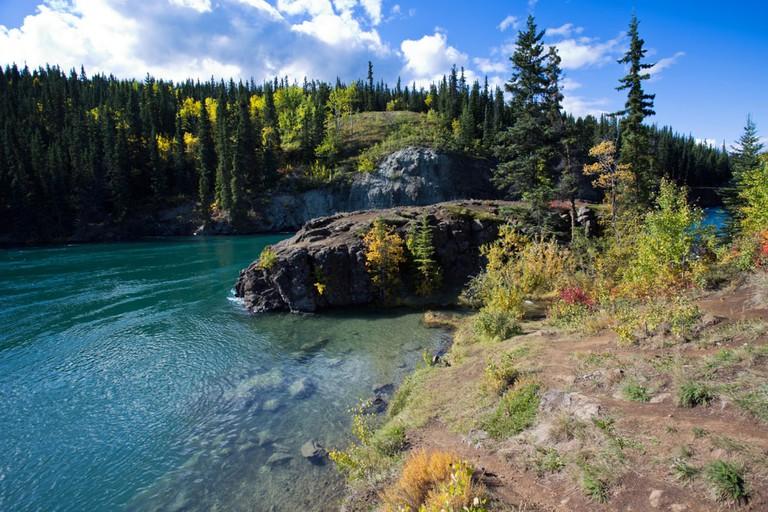 Miles Canyon, Yukon Territories, Canada