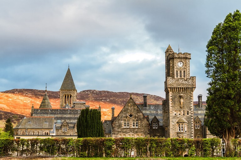 Fort Augustus Abbey on Loch Ness, Scotland