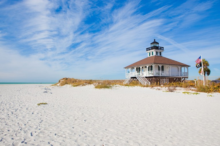 The Port Boca Grande Lighthouse