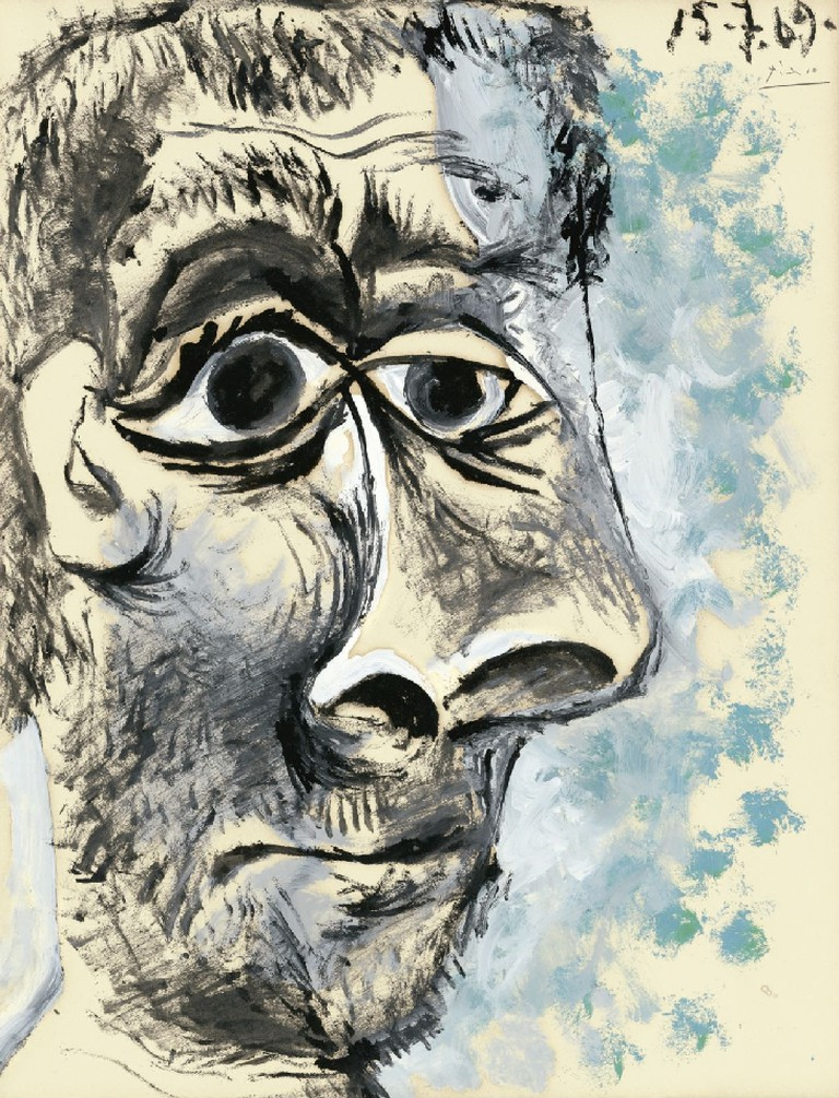 [ P ] Pablo Picasso – Tête d'Homme (1969)