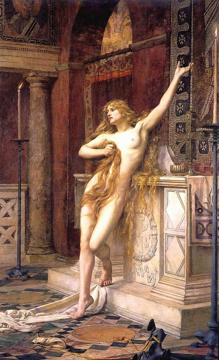 Hypatia by Charles William Mitchell, 1885 © Wikicommons