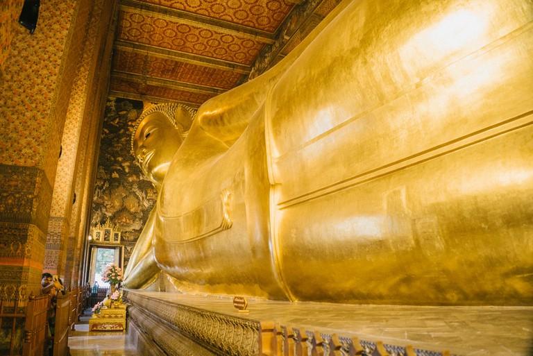 Golden Bhudda at Wat Pho Temple
