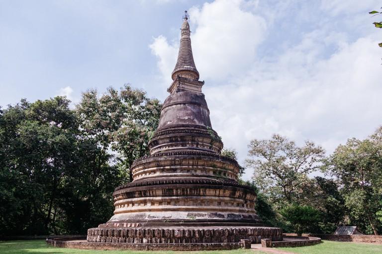 Wat Umong Temple