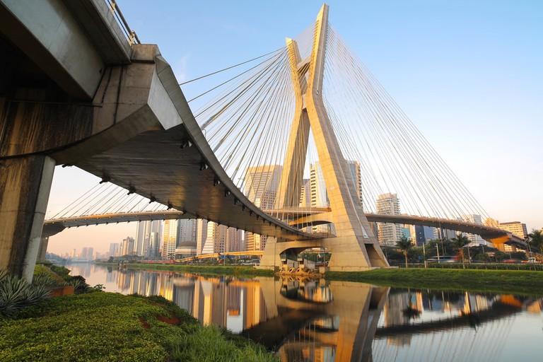 Estaiada Bridge, Sao Paulo, Brazil
