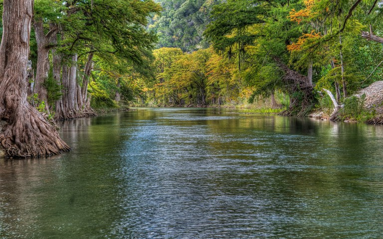 Guadalupe River in Texas
